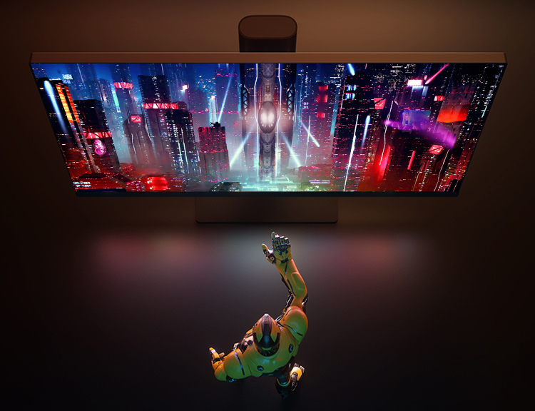 Xiaomi запустила в Китае безрамочный монитор Mi Fast LCD с диагональю 24,5 дюйма и частотой обновления 165 Гц