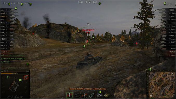Информация о предстоящем респауне во время загрузки боя