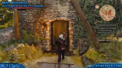 The Witcher 3 Wild Hunt - Feline Witcher ����������������� ����