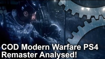 DigitalFoundry о ремастере Call of Duty 4: Modern Warfare
