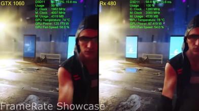 """Mirror's Edge Catalyst """"Тест и сравнение видеокартGTX 1060 vs RX 480 (1080p)"""""""
