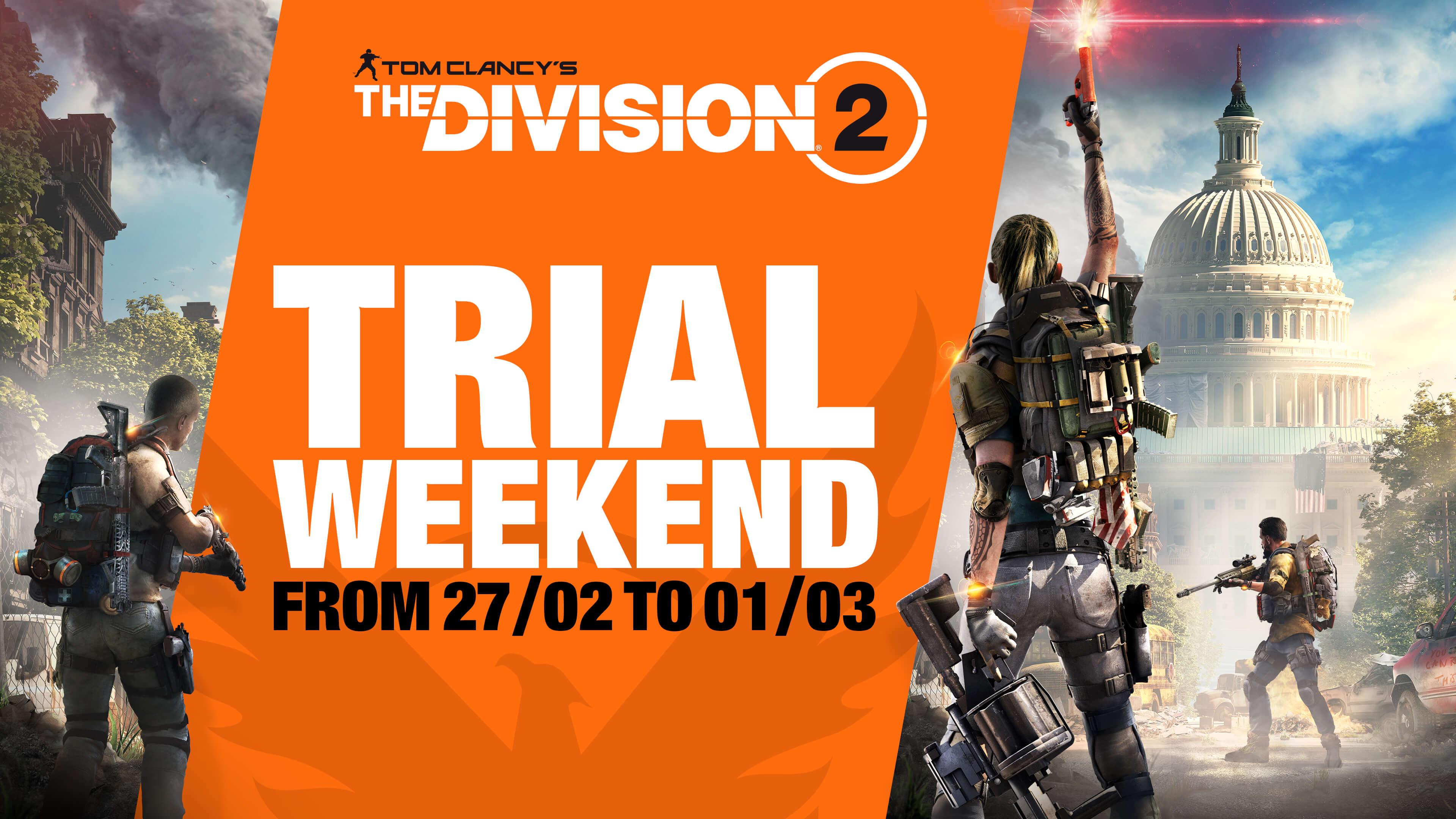 В Tom Clancy's The Division 2 теперь можно бесплатно играть в UPLAY и Epic Games Store до 1 марта