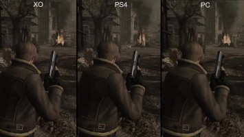 Resident Evil 4 Remastered: Сравнение графики PS4/Xbox One/PC/GameCube (DigitalFoundry)