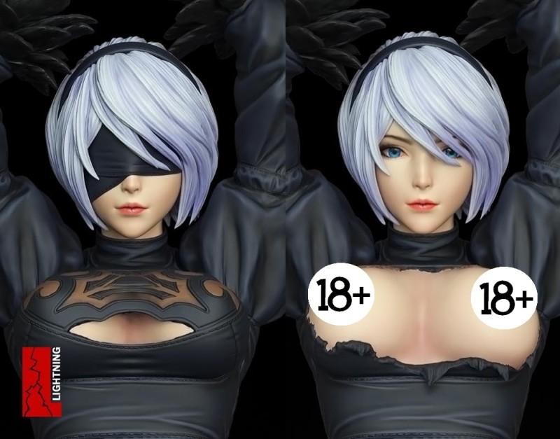 Фигурка 2B из NieR: Automata