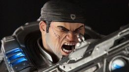 Анонсирована коллекционная фигурка Gears of War: Маркус против генерала RAAM