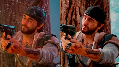 Days Gone E3 2017 Day vs Night Gameplay. Сравнение графики