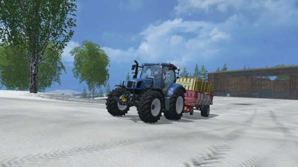 Farming Simulator 2015 Карта Бьорнхольм
