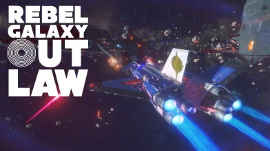 Два часа геймплея космического симулятора Rebel Galaxy Outlaw