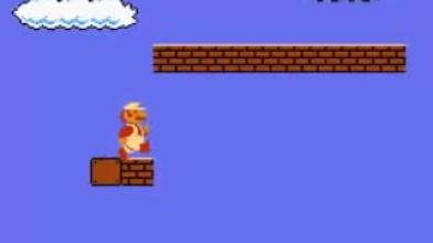 Super Mario Bros., но со звуками из Quake