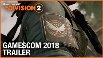 Трейлер Tom Clancy's The Division 2 с Gamescom 2018
