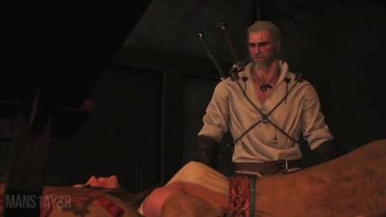 The Witcher 0 Wild Hunt - Нашел свежую Грудь