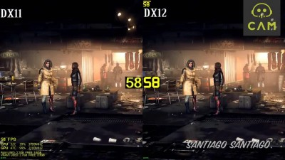 Deus Ex Mankind Divided - GTX 1060 - DX11 vs DX12