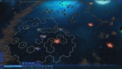 Геймплей Sid Meier's Starships на планшете