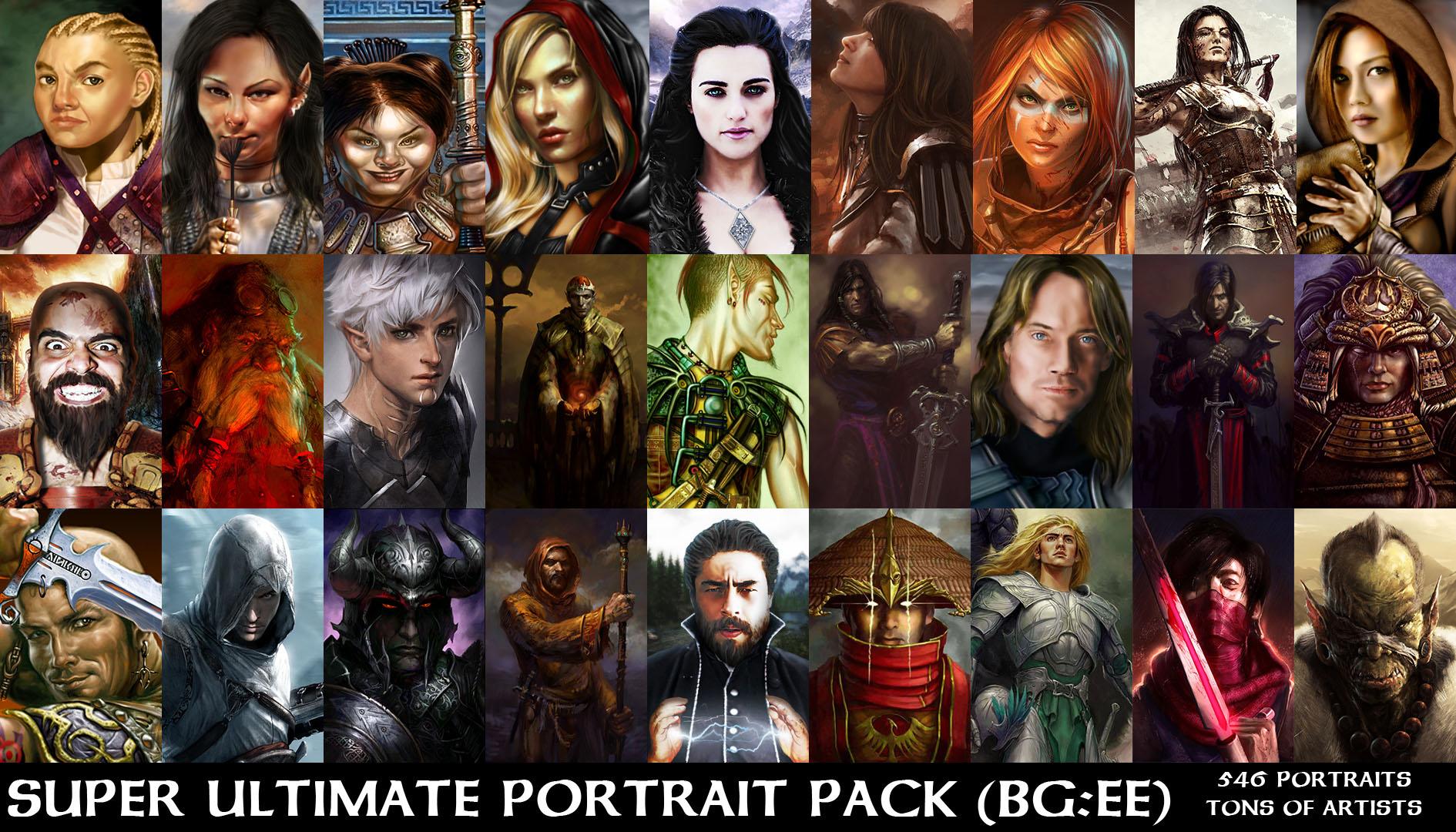 Baldur S Gate Скачать Портреты