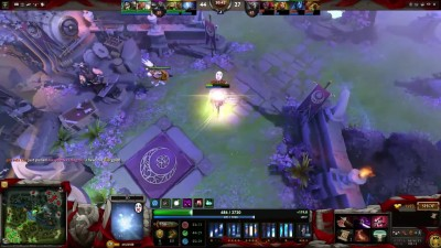 Wisp IO Carry DotA 2