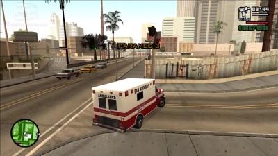 "GTA: SA ""Все задания Paramedic, Firefighter и Vigilante"""