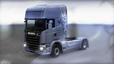 Euro Truck Simulator 2 - Mighty Griffin DLC Tuning Pack