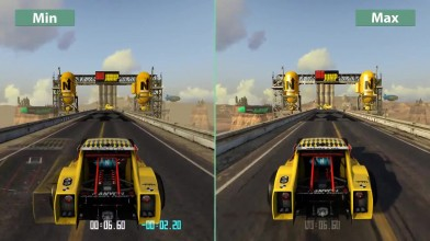 Trackmania Turbo - Детальное сравнение PC Min vs. Max
