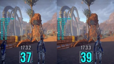 Mass Effect Andromeda : AMD Driver 17.3.2 vs 17.3.3 FPS Test R9 280X FX 8350