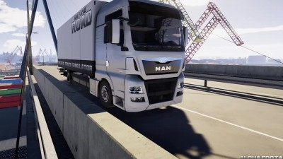 One The Road - Truck Simulator: Новый конкурент Euro Truck Simulator 2