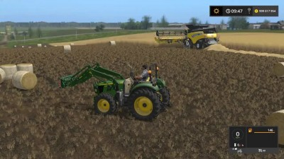 Мод трактора JOHN DEERE 5080M для игры Farming Simulator 17