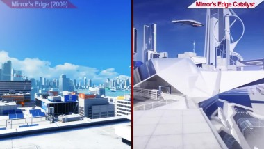 Сравнение Mirror's Edge (2009) VS Mirror's Edge Catalyst (2016) | на ультра настройках