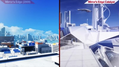 Сравнение | Mirror's Edge (2009) VS Mirror's Edge Catalyst (2016) | PC