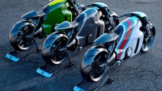 Lotus анонсировала новый супербайк в стиле Tron: Legacy