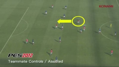 "PES 2012 ""Gameplay Video 07 - Teammate Controls / Assisted"""