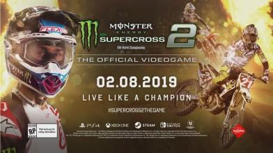 Monster Energy Supercross - The Official Videogame 2 выйдет на всех домашних платформах в феврале