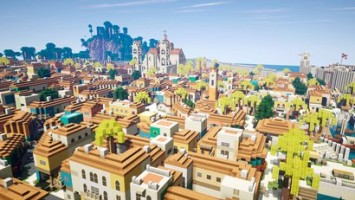 Гавана из Assassin's Creed IV, воссоздана в Minecraft