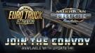 Многопользовательский режим Convoy появится в Euro Truck Simulator 2 в ближайшем обновлении