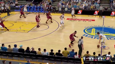 "NBA 2K16 ""Геймплей Cleveland Cavaliers vs Golden State Warriors """