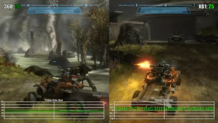 Halo Reach Xbox One Backwards Compatibility Frame Rate Test
