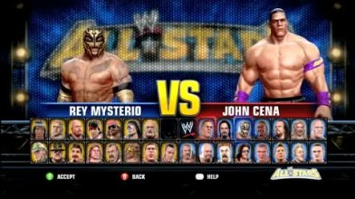 "WWE All stars ""Геймплей"""