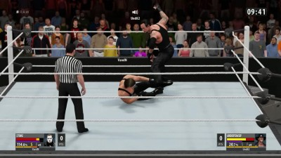 "WWE 2K16 ""Online Iron Man Match - The Undertaker VS The Icon STING"""