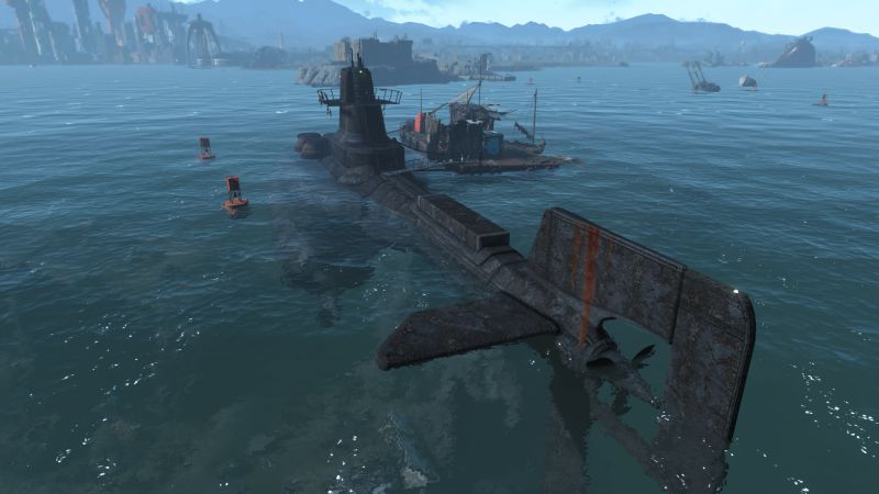 fallout 2 подводная лодка как отключить