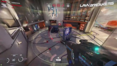 6 минут геймплея Lawbreakers режим Turf War