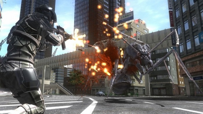 Earth Defense Force 4.1 ПК