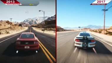 Need for Speed Rivals (2013) vs. Payback (2017) | Сравнение графики