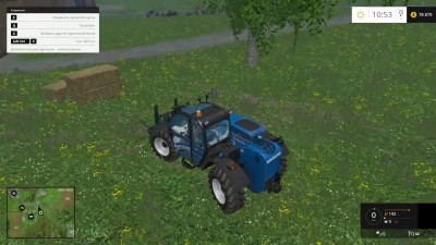 "Farming Simulator 15 ""Работа на Kuhn SPV XXL"""