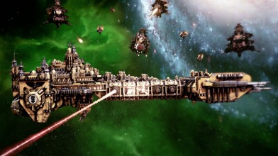 Вышло дополнение Space Marines для Battlefleet Gothic: Armada