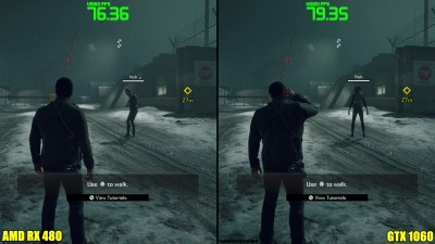 Dead Rising 4 Pc GTX 1060 Vs AMD RX 480 Частота кадров