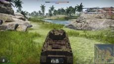 """War Thunder """"PzKpfw. M4-748(a): Первый американец   Реалистичные бои  """""""