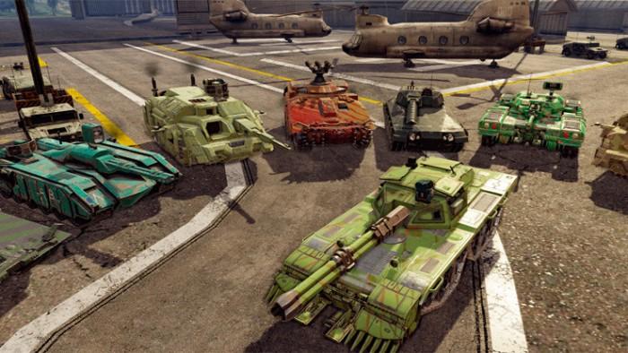 Infinite Tanks готовится к релизу: вышел новый трейлер