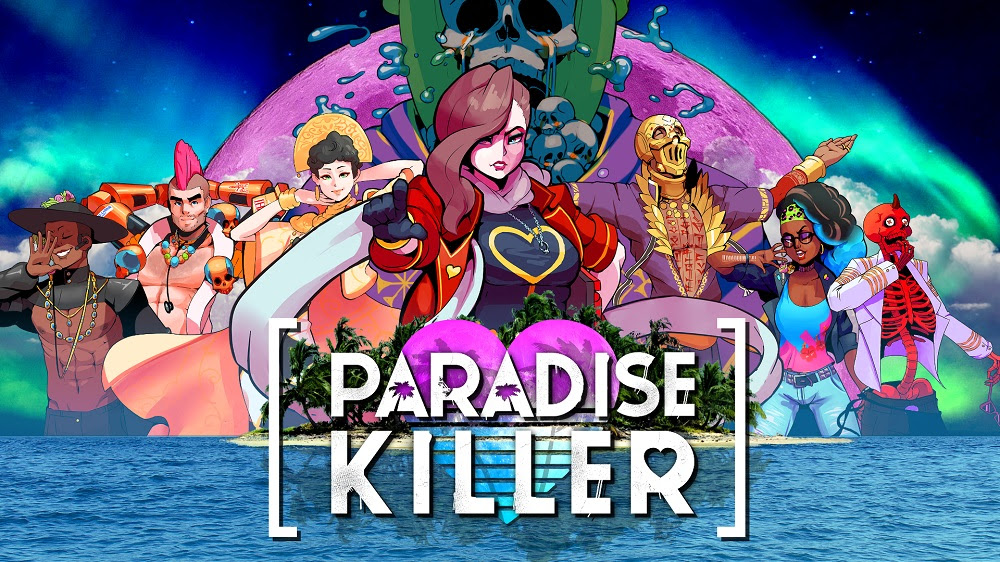 Анонсирующий трейлер игры Paradise Killer в стиле 80-х