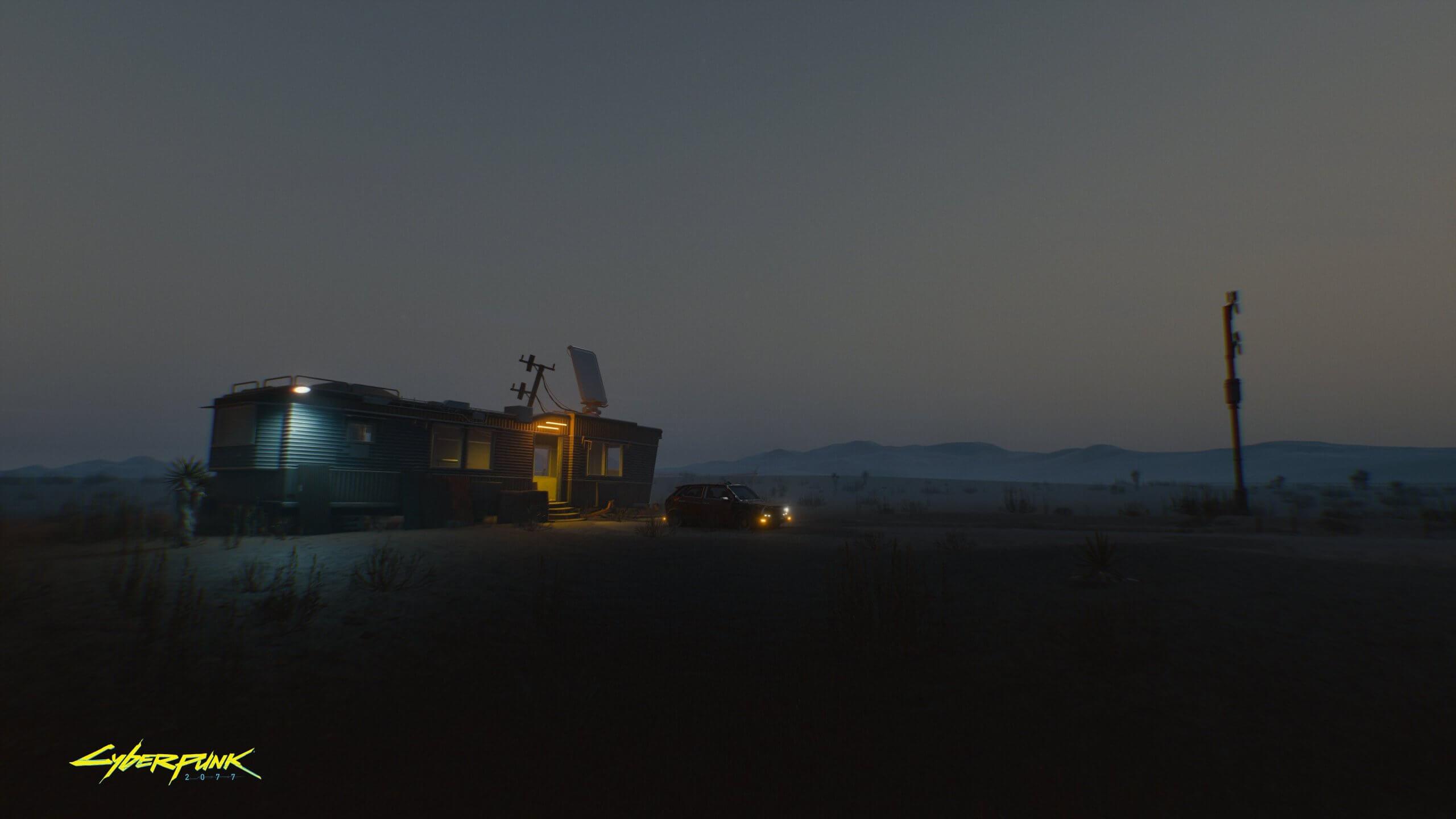 Короткий ролик и новый скриншот Cyberpunk 2077