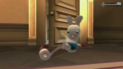 "Raving Rabbids Travel in Time ""Геймплей"""
