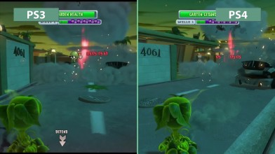"Plants vs. Zombies: Garden Warfare ""Сравнение версий для PS3 vs. PS4"""