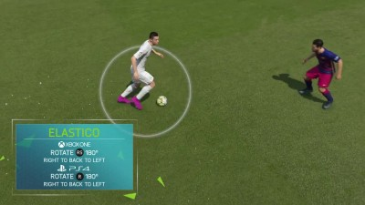 FIFA 16 Туториал - Advanced Skill Moves - Spin Flick, Elastico, Elastico Chop